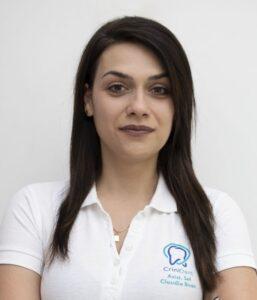 Claudia Bican @ clinica CriniDent Craiova