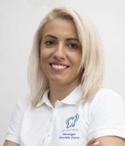 Daniela Jianu @ clinica CriniDent Craiova