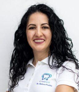 dr Raluca Puchiu - stomatolog / dentist @ clinica CriniDent Craiova