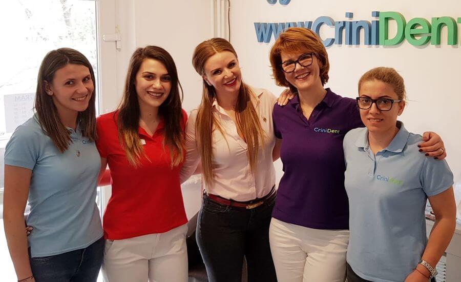 echipa Crinident, clinica dentara Craiova